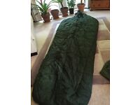 Military sleeping bag really got for cold weather comes with another bag I've got