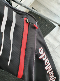 Golf stand bag taylotmade Black red and white