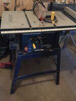Table saw like new (100$)