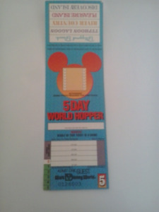 5-day pass for Disney