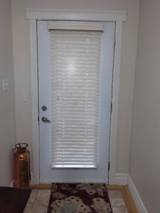Wooden Door Blind