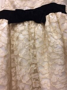 2T cream/gold lace dress Regina Regina Area image 2