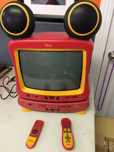 Disney TV and DVD Player Combo