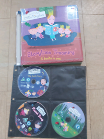 Ben and Holly book and dvds