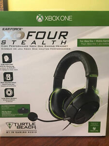 XOFour Stealth Turtle Beach Headset (new, sealed)