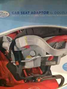Baby Jogger Car Seat Adaptor for Double City Series Strollers