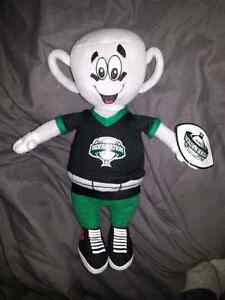 """EARL"" THE GREY CUP STUFFED COLLECTABLE"