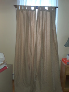 2 sets of Martha Stewart curtains