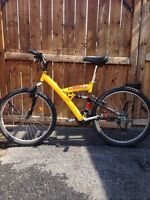 """26"""" Mountain Bike with Dual Suspension $140!!!!"""