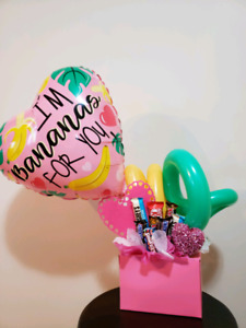 Candy and Balloon Bouquet