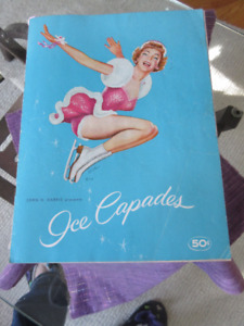 Vintage Ice Capades Program from 1955 - Great condition.