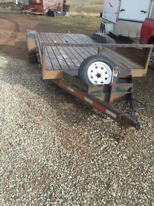 Great Skid Steer trailer for sale