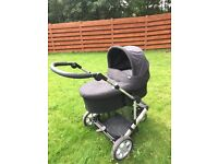 Mamas and Papas travel system pram (can deliver if required)