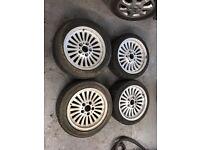 "BMW E39 E36 E46 style 33 16"" wheels"