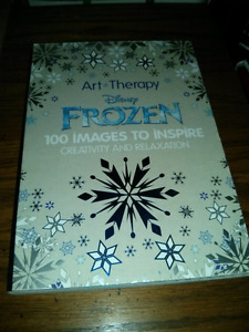 FROZEN Art Therapy Book!