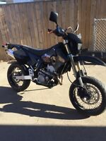 2009 super moto drz 400 Suzuki mint with extrad