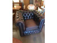 Leather chesterfield club Armchair