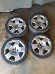 Audi tt FAT FIVES 5x100   225/45/r17