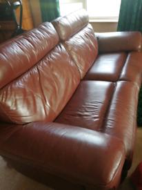 Large reclining sofa