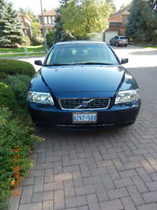 2004 Volvo S80 (low Km)