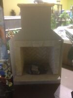 Outdoor Fireplace for sale