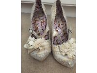 Irregular choice size 4 ladies heels
