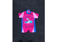 Zoggs Girls Inflatable Swim Vest Age 1-2