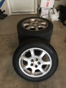 Michelin P185/60R15 tires and mags for sale