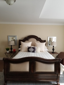 Moving Sale!!!!  Beautiful Grand Queen Size Bed.