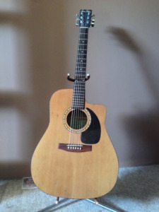 S&P 6cw  Acoustic Guitar
