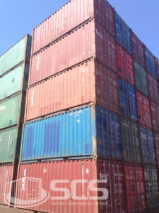 40' SEA STORAGE / SHIPPING CONTAINERS FOR SALE & RENT!!!