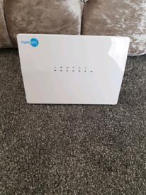 Fibre optic broadband router