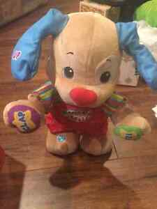 Fisher price dance wiggle puppy