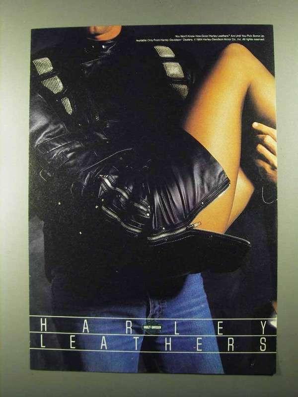 1984 Harley-Davidson Leathers Ad