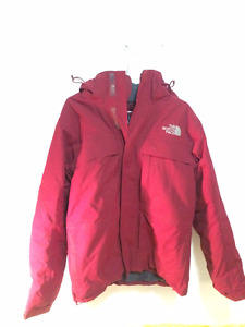 Manteau Northface Rouge Taille S Homme