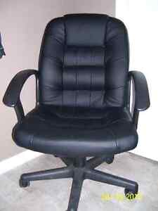 leather office chair in good condition