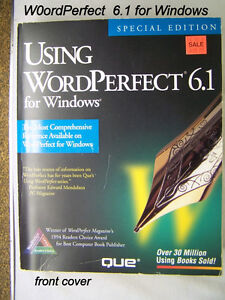 BOOK: Vintage 95; Word Perfect 6.1 word processor for windows