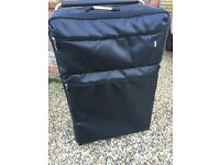 Two Lightweight IT Suitcases, soft sides, extending handle, two wheels £30.00 for two cases
