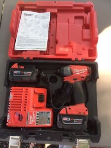 "Milwaukee M18 1/4"" impact driver"