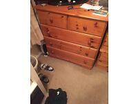 Wardobe and drawer