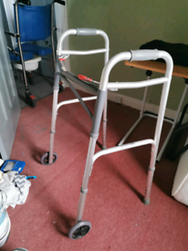 Elderly walking frame