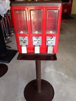 Vending machines for sale.