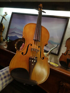 German VIOLIN antique RESTORED ready to play 4/4 size