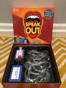 SELLING SPEAK OUT BOARD GAME (PRIME CONDITION)
