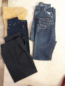 Boys pants-New or Like new, size 10 or 12