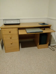Office desk, TV stand, stainless natural gas BBQ