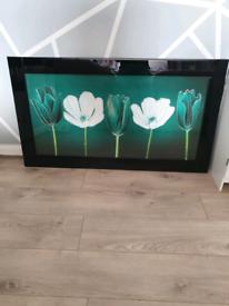 Beautiful tulip liquid art with Swarovski crystals from Pigazzi