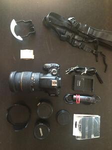 Canon T3I / Sigma 24-70 f2.8 DSLR Camera Kit - useful extras