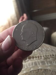 1972 United States of America one dollar coin