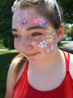 Wanted Person who can paint faces with our face painting team